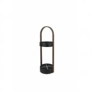 Umbra - HUB porte-parapluie Noir/Noyer