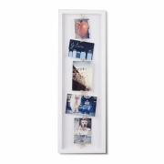 Umbra - Clothesline Flip Photo Display White