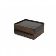Umbra - Stowit Jewelry Box Black/Walnut