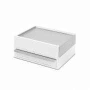 Umbra - Stowit Jewelry Box White/Nickel