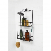 Umbra - Cubiko Shower Caddy Black
