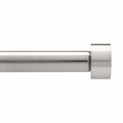 Umbra - Cappa Single Rod Nickel | 91,4 - 182,9 cm
