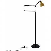 DCW - Lampe Gras N°411 Stehleuchte Gelb | Rund