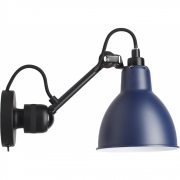 DCW Lampe Gras N°304 SW Applique murale - Cadre Noir