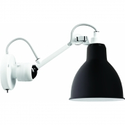 DCW - Lampe Gras N°304 SW Wandleuchte - Gestell Weiß