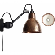 DCW - Lamp Gras N°304 CA Wall Lamp Raw Copper | Round