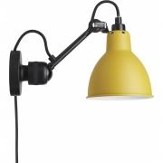 DCW - Lampe Gras N°304 CA Wandleuchte Gelb | Rund