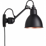 DCW - Lampe Gras N°304 CA Wall Lamp Black Copper | Round