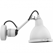 DCW - Lampe Gras N°304 Bathroom Wall Lamp Frosted White | CL I (German)