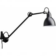 DCW - Lampe Gras N°222 Wandleuchte - Gestell Schwarz Schwarz | Rund