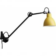 DCW - Lampe Gras N°222 Wandleuchte - Gestell Schwarz