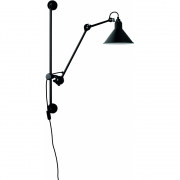 DCW - Lamp Gras N°210 Wall Lamp Black | Conic