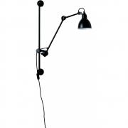 DCW - Lampe Gras N°210 Wandleuchte Schwarz | Rund