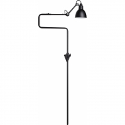 DCW - Lampe Gras N°217 Wall Lamp Black | Round