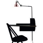 DCW - Mobilier de Gras Plug & Work SW Console with Lamp N°216