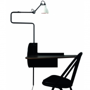 DCW - Mobilier de Gras Plug & Work SW Console with Lamp N°217