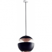 DCW - Here Comes The Sun 250 Ceiling Lamp Black/Copper