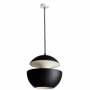 DCW - Here Comes The Sun 350 Ceiling Lamp Black/White