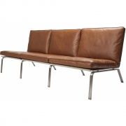 Norr11 - Man Sofa 3-Sitzer Leder