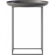 Norr11 - Duke Side Table Small | Earth Black