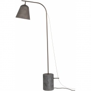 Norr11 - Line Floor Lamp One | Oxidized