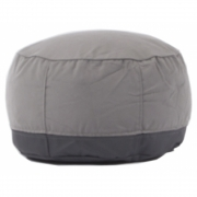 Norr11 - Storm Table Pouf Dunkles Taupe