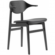 Norr11 - Buffalo Dining Chair Black - Leather