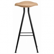 Norr11 - Barfly Barstool Black - Leather