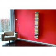 Radius - Booksbaum Bücherregal mit Wandmontage Einfach   Weiß   170cm
