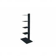 Radius - Booksbaum Magazinhalter Fußgestell   Schwarz   90cm