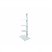 Radius - Booksbaum Magazine Shelf Pedestal | White | 90cm