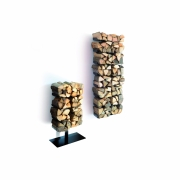 Radius - Wooden Tree Firewood Rack
