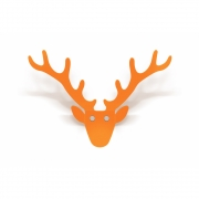 Radius - Trophy Wandgarderobe Orange   Klein