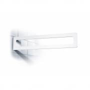 Radius - Puro Handtuchhalter Weiß | Klebend