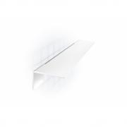 Radius - Puro Shelf White   Wall Mounting
