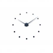 Radius - Wall Clock Wanduhr Schwarz