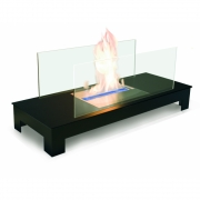 Radius - Floor Flame Ethanol Fireplace