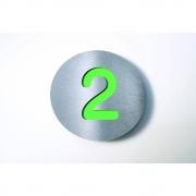 Radius - Letterman Hausnummer Grün | 2