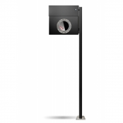 Radius - Letterman1 Mailbox incl. Standing Post & Bell
