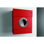 Radius - Letterman2 Briefkasten inkl. Klingel Rot | Grün