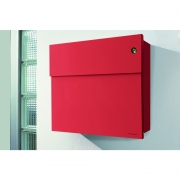 Radius - Letterman4 Mailbox incl.Bell Red | Green
