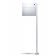Radius - Letterman4 Mailbox incl. Standing Post & Bell