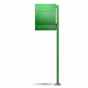 Radius - Letterman5 Mailbox incl. Standing Post & Bell