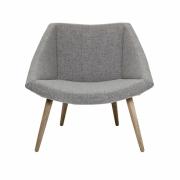 Bloomingville - Elegant Chair with Wood Base
