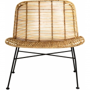 Bloomingville - Dom Chair Rattan Natur Sessel