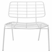 Bloomingville - Mesh Lounge Chair White