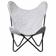 Bloomingville - Butterfly Chair Grey