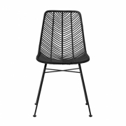 Bloomingville - Lena Chair Stuhl Schwarz