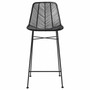 Bloomingville - Indus Bar Stool Barhocker Schwarz