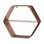 Bloomingville - Hexagonal Shelf Regal